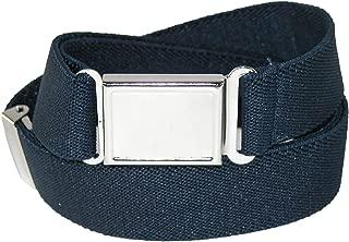CTM Kids' Elastic 1 Inch Adjustable Belt with Magnetic Buckle