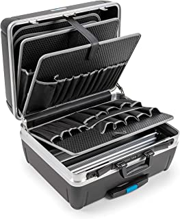 B&W RHINO mobile tool case with tool pockets (HDPE case, volume 42 l, 48.5 x 37.3 x 23.2 cm inner) 115.04/P, tools not inc...