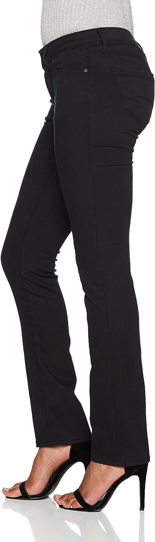 Mavi Olivia Jean Coupe Droite Femme Double Black Str 23768