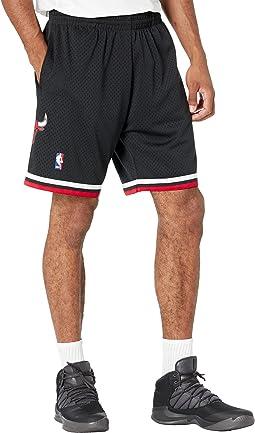 NBA Alternate Swingman Shorts Bulls 97-98