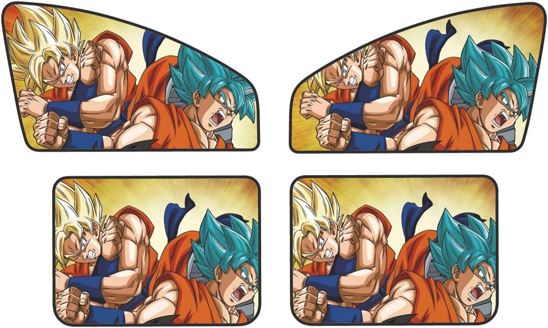Goku Branded goods Vegeta Super Saiyan Car Sun Year-end gift Window and Shades Rear for Side