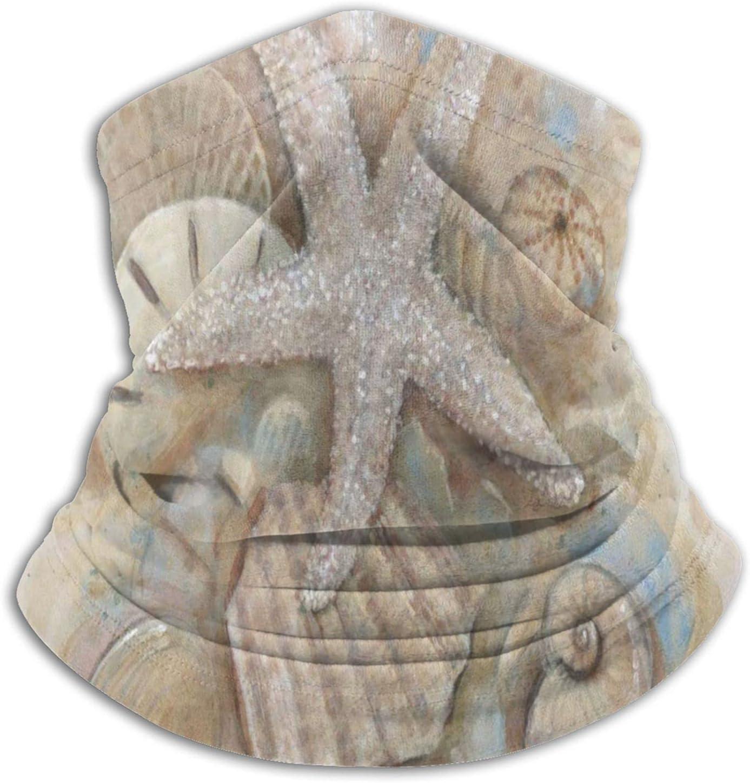 YAZXHJAZ Neck Gaiter Warmer Mask Ocea Sale Life Starfish Beach Cash special price Marine