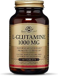 Solgar L-Glutamine, 1000 mg - 60 Tablets
