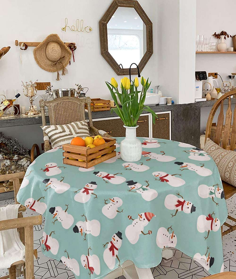 Ranking TOP1 Womenfocus Kitchen Cotton Linen Dinin Tablecloth Square 54