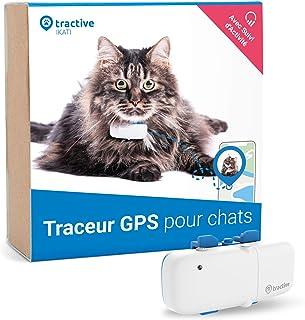 Tractive traceur GPS pour chat, Portée illimitée, Suivi d'activité, Pour tout..