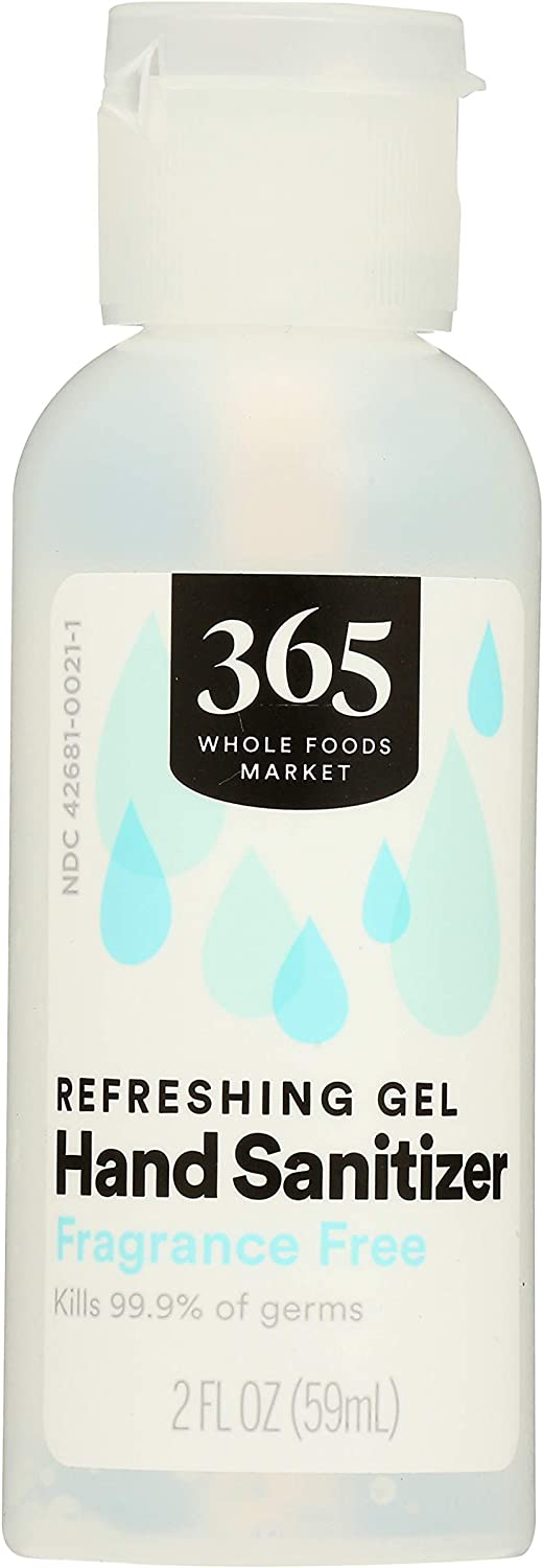 365 by Max Special price for a limited time 68% OFF WFM Sanitizer Hand Gel 2 Oz 62% Fl