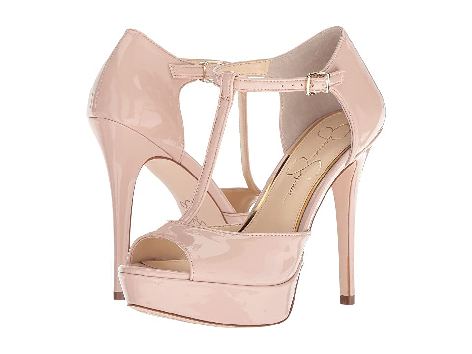 Jessica Simpson Bansi (Nude Blush Patent) High Heels