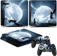 EBTY-Dreams Inc. - Sony Playstation 4 Slim (PS4 Slim) - Final Fantasy VII (FFVII) Cloud & Sephiroth Vinyl Skin Sticker Decal Protector