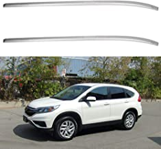 ECCPP Roof Rack Side Rails Luggage Cargo Carrier Roof Side Rails Fit for 2012 2013 2014 2015 Honda CR-V Sport Utility,Aluminum Cross Rails