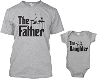 The Father/The Daughter Matching Bodysuit & Men's T-Shirt