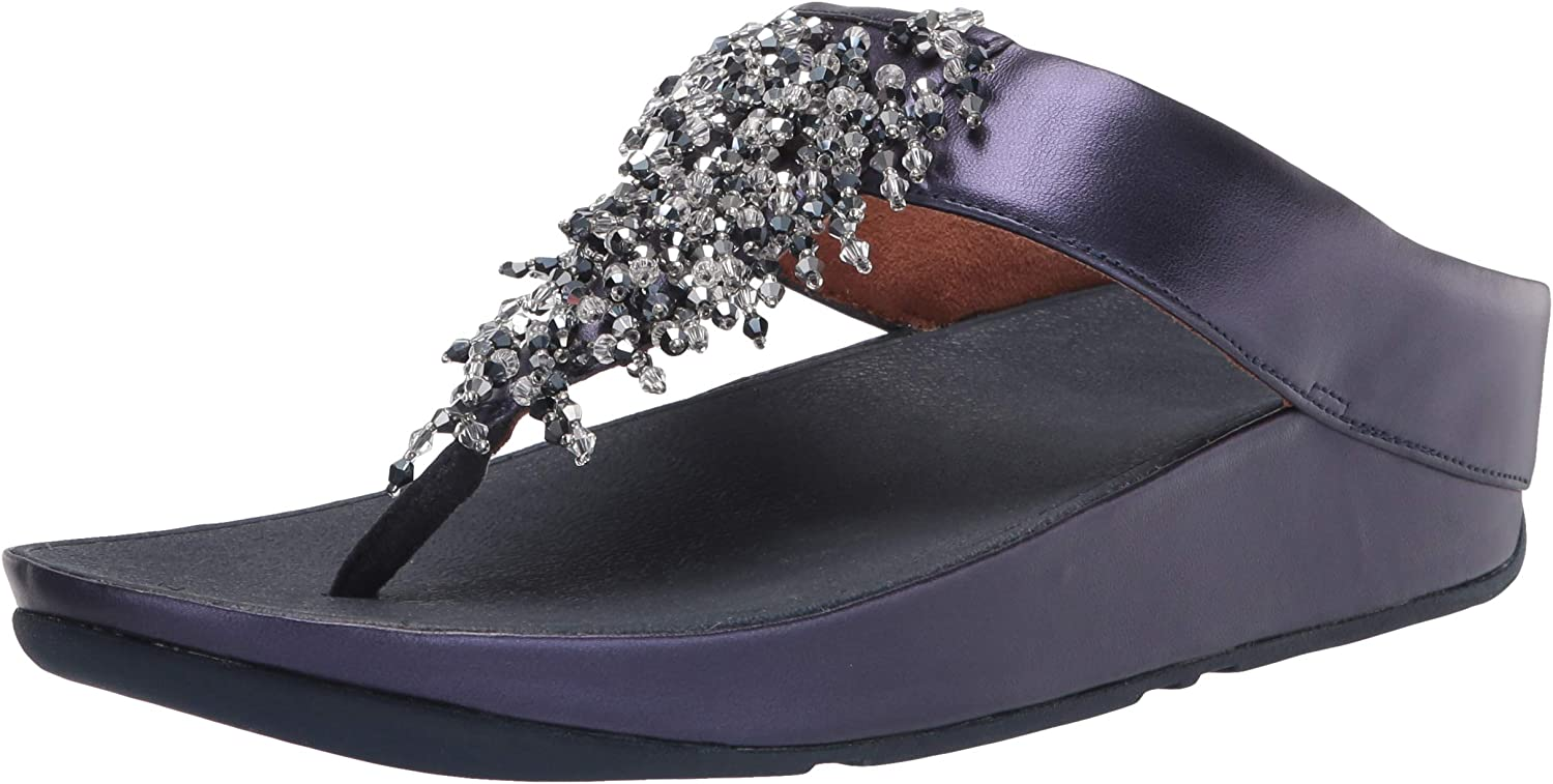 FitFlop Women's Rumba Lowest price challenge Sandals Toe-Post Max 81% OFF Beaded