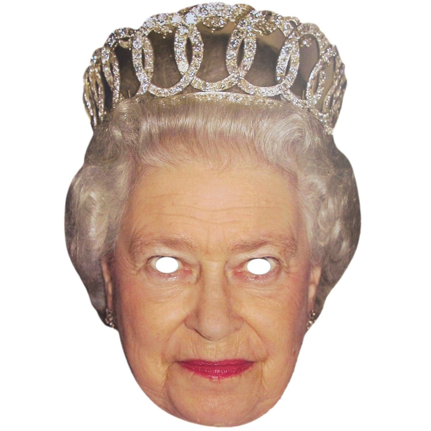 Royal Family Face Masks Of Queen Elizabeth /& Prince Phillip Fancy Dress Party