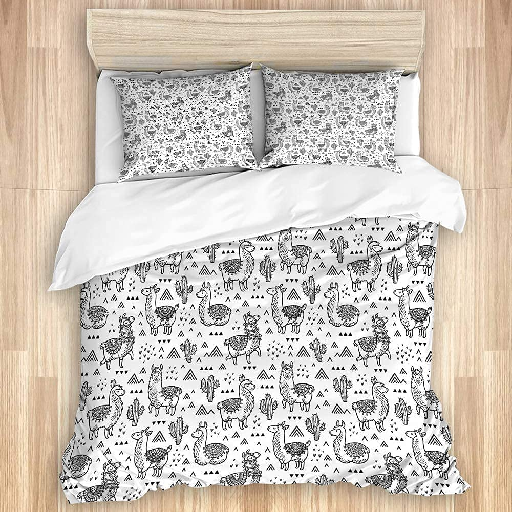 Time sale NELTICZ Duvet Max 43% OFF Cover Set Twin Se Pillowcase and Size