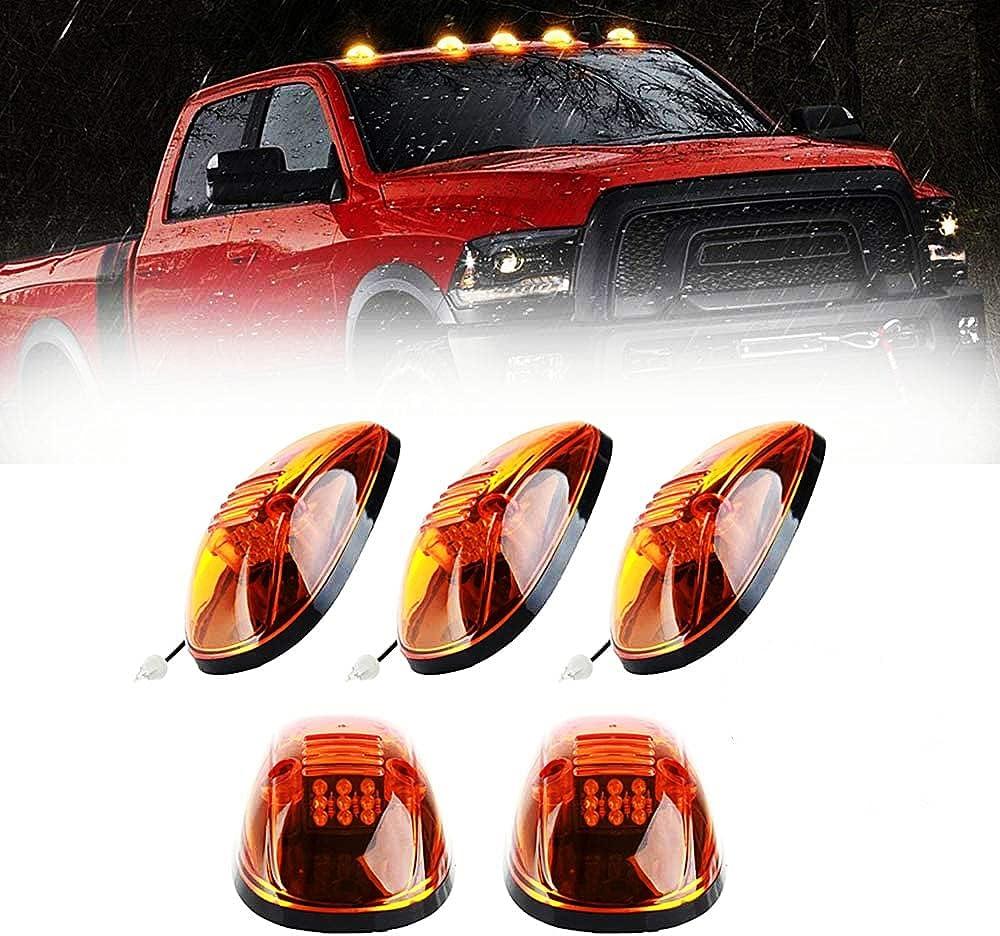 Dodge Ram 1500 2500 3500 Amber Running Roof Cab Clearance Light ...