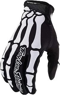 Troy Lee Designs Air Skully Men's Off-Road Motorcycle Gloves - Black/White/X-Large