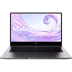 Huawei Matebook D14 - Portátil Ultrafino de 14 FullHD (AMD Ryzen 5 3500U, 8GB RAM, 256GB SSD, Radeon Vega 8