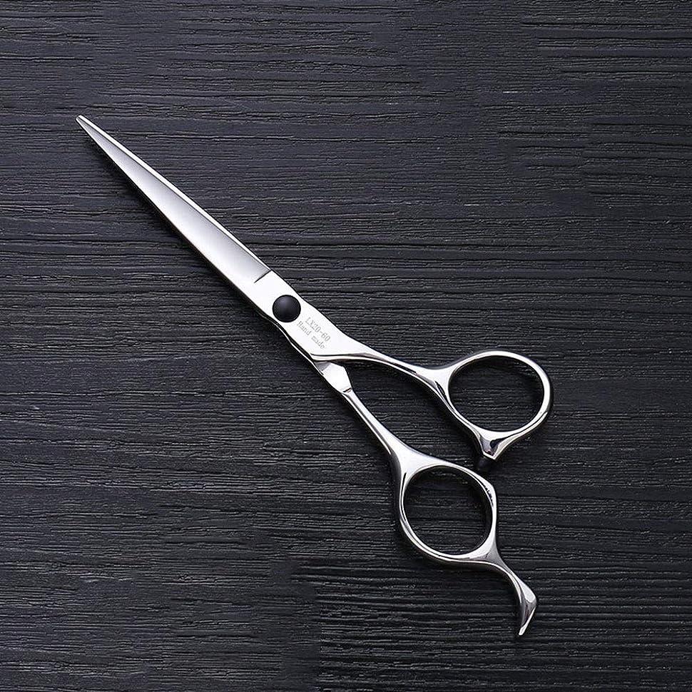 概念いつでも含意6インチヘアスタイリスト特殊ヘアカットツール、ハイエンドステンレススチールバリカン モデリングツール (色 : Silver)