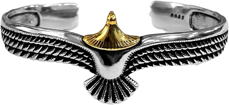 New sales Himpokejg Vintage Eagle Design Open Jewelry Bracelet Cuff Over item handling Bangle