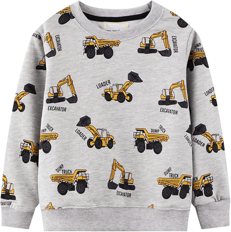 Boys Sweatshirt Crewneck Cotton Long Spo All items free shipping Cartoon Pullover trust Sleeve