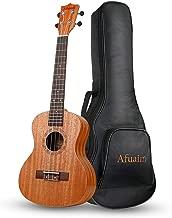 Afuaim Concert Ukulele 21 Inch Mahogany Uke with Gig Bag for Beginners