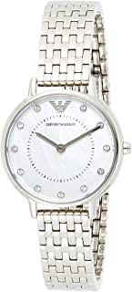 Emporio Armani Ladies Wrist Watch, Silver, AR2511