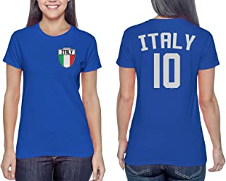 HAASE UNLIMITED Italy Soccer Jersey - Italian Ladies T-Shirt