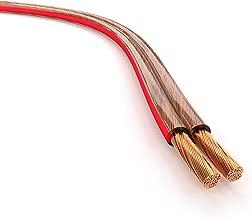 KabelDirekt 15m Cavo audio per diffusori acustici (2x2,5mm² Cavo per altoparlante, Made in Germany, in rame OFC, con marcatura di polarità, la massima qualità musicale) PRO Series