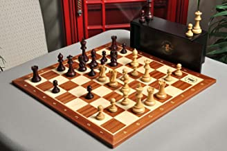 The Gilded Grandmaster Chess Set, Box, Board Combination - 4.0