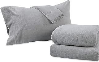 Berkshire Blanket Serasoft Set Plush Sheets, Queen, Wild Dove