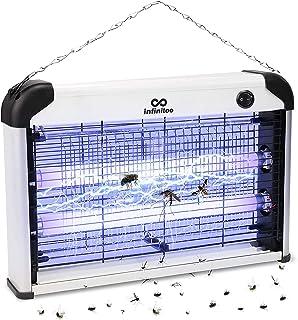 infinitoo Lampe Anti Moustique, 20W UV Tueur d'Insectes Électrique Anti Insectes Répulsif Efficace Portée 50-80m² Pièges à...
