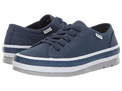 Wolky Linda (Navy Canvas) Women