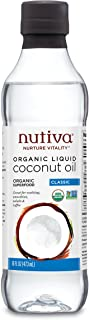 Nutiva Organic, Unrefined, Liquid Coconut Oil, 16-ounce