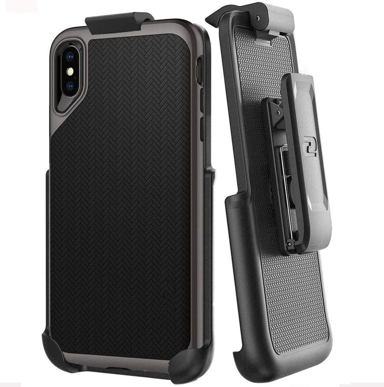 Encased Belt Clip Holster for Spigen Neo Hybrid Case - Apple iPhone Xs MAX (case not Included)