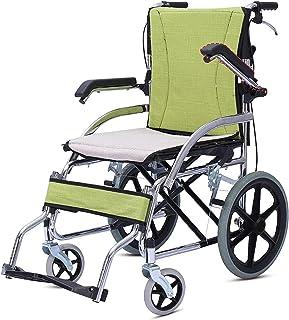 Rullstol hopfällbar lätt äldre handikappad vagn liten ultralätt bärbar reseskoter