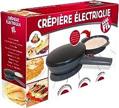 Kitchen Pro – Crêpière électrique sans Fil diamètre 20 cm avec revêtement Anti-adhérent