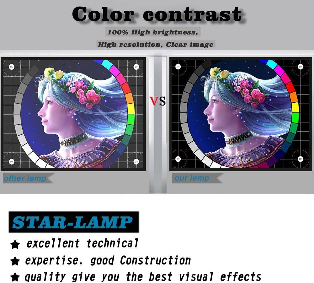 STAR-LAMP 5J.J9E05.001 MC.JFZ11.001 RLC-079 Replacement Projector Lamp Bulb with Housing for BENQ W1500/BENQ W1400