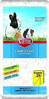 Kaytee Clean & Cozy White Bedding 24.6 Litre, White