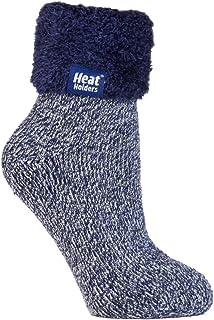 Mujer Invierno Cómodo Confortables Durable Térmico Diseño Caliente Fantasia Colores Gruesa Calcetines para Frío Clima