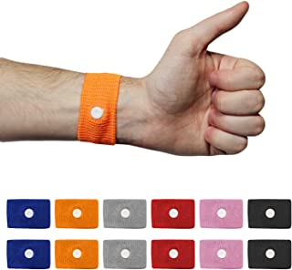 New - Chesterman's 6 Pairs Motion Sickness Wristband, Morning Sickness Relief, Vertigo Bands, Altitude Sickness Bracelet, Pregnancy Nausea Relief, Anti Nausea Chemotherapy Bracelet, Cruise Essential
