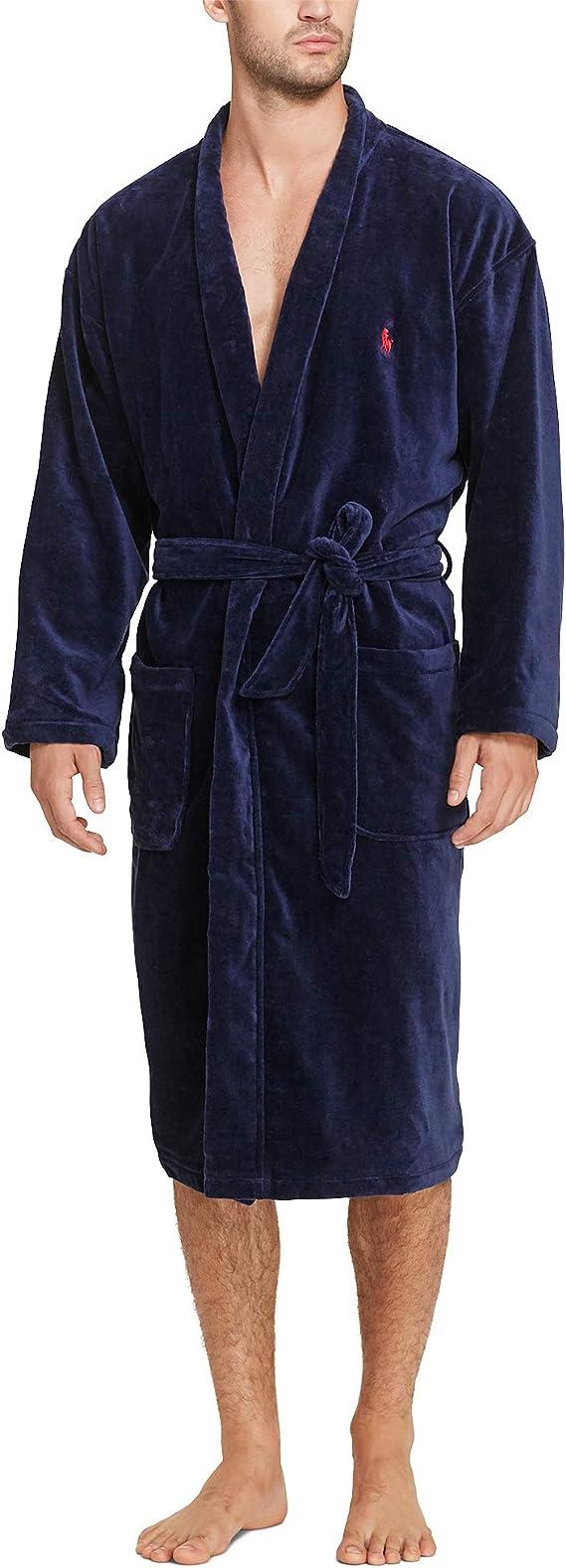 Polo Ralph Lauren Mens Terry Shawl Robe