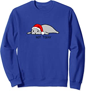 Nope Not Today Lazy Cat| funny lazy cat design Christmas Tee Sweatshirt