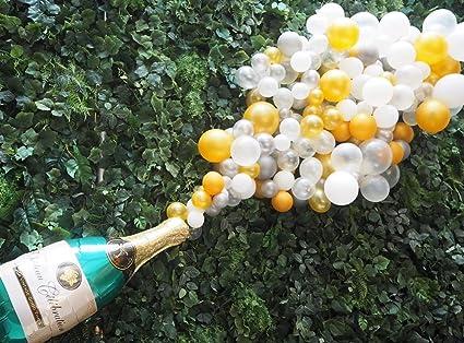 15 Globos De Botella De Champán De 40 0 In Para Decoración De Bodas Cumpleaños Despedidas De Soltera Despedidas De Soltera Fiestas Etc Champán Health Personal Care