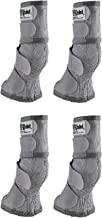 Cashel Crusader Horse Fly Protection Leg Guards, Set of Four, Grey, Horse