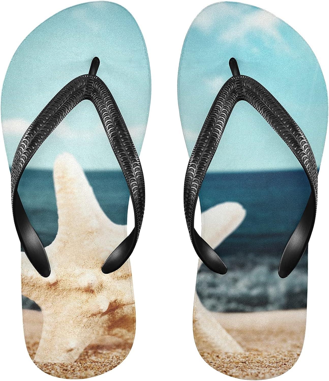 Linomo Men's Ocean Oklahoma City Mall Sea Beach Sale special price Starfish Beac Summer Flip Flop Slim