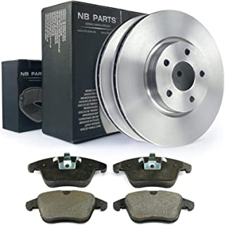 Bremsen/2x Bremsscheiben + Bremsbeläge vorne NB PARTS GERMANY 10070971