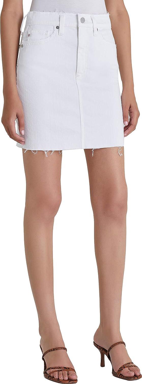 AG Adriano Goldschmied Women's Vera Denim Mini Skirt