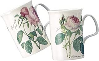 Roy Kirkham Lancaster Mug, Redoute Rose, Set of 6
