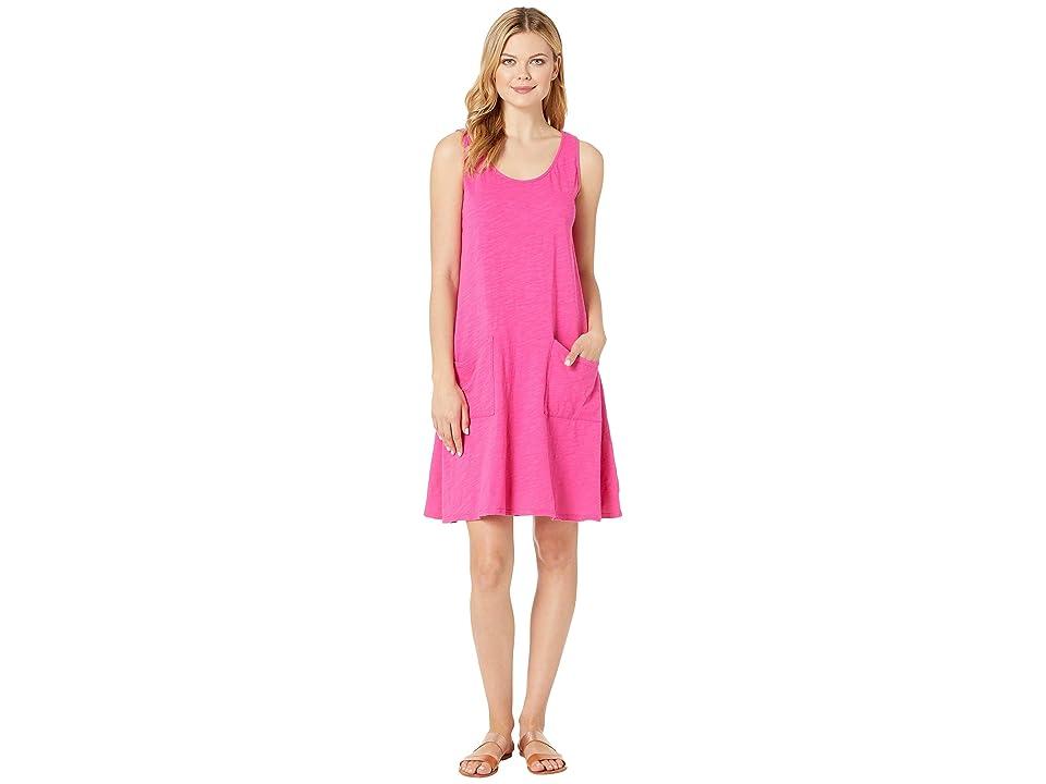 Fresh Produce Drape Dress (Raspberry) Women