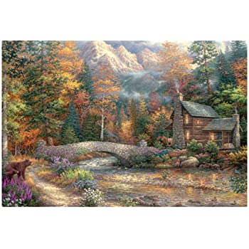 jin&Co Accessories Adults Jigsaw Puzzle 1000 Pieces Modern Painting Large Puzzles