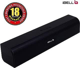 iBELL 20W Soundbar High Performance Audio Speaker System with Bluetooth,USB,TF Card & AUX Connectivity(Black)